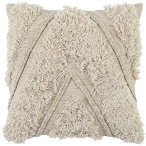 ET Sahara Natural/Ivory 22x22 Pillow