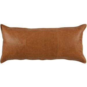 SLD Leather Dumont Chestnut 16x36 Pillow