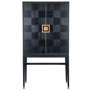 Truman Bar Cabinet Black