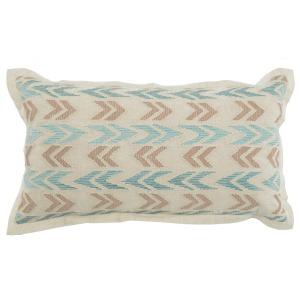 RV Brianna Blue Surf 14x26 Pillow