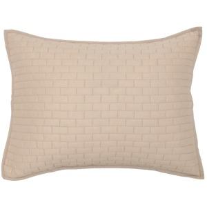 Brick Natural Standard Sham 20x26