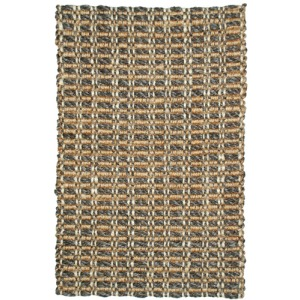 Mixed Jute Weaves Timberhitch Charcoal/Natural Rug