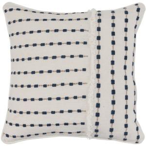 NE Katia Ivory/Navy 20x20 Pillow