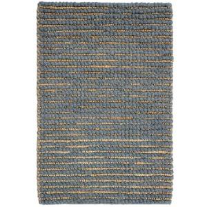 Valencia Wool/Jute Slate Rug