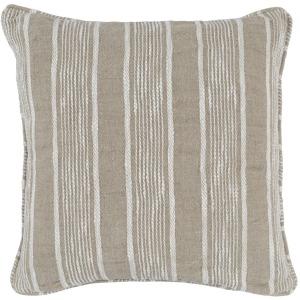 Dax Natural 22x22 Pillow