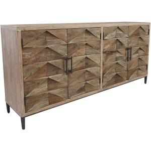 Maverick 4 Drawer Sideboard