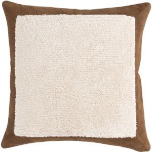 MR Axel Chestnut/Ivory 20X20 Pillow
