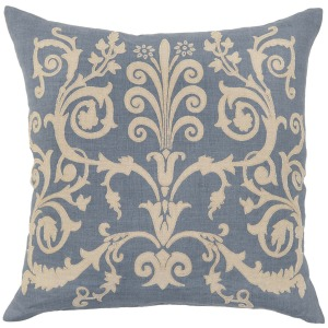 HER Bari Slate Blue Pillow