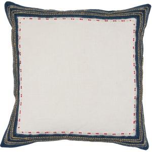 NE Quinn Navy Multi 22x22 Pillow