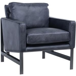 Chazzie Club Chair Gray