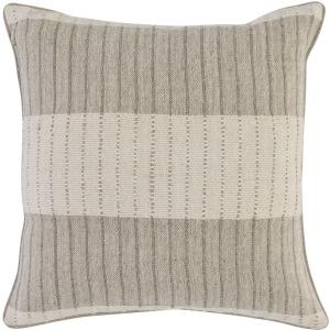 TC Kalen Natural/Ivory 22x22 Pillow