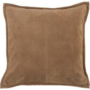 SLD Rabun Suede Chestnut 20X20 Pillow