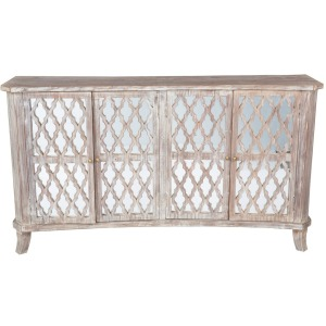 Lattice 4Dr Sideboard