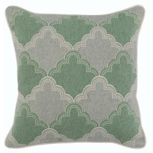 VE Naomi Mint Multi 18x18 Pillow