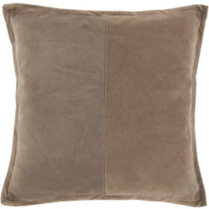SLD Rabun Suede Tan 20X20 Pillow