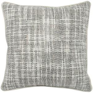 TW Brax Gray/Ivory 22x22 Pillow