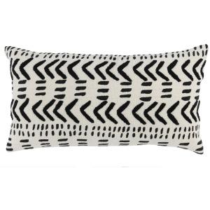 RM Cadiz Ivory/Black 14x26 Pillow
