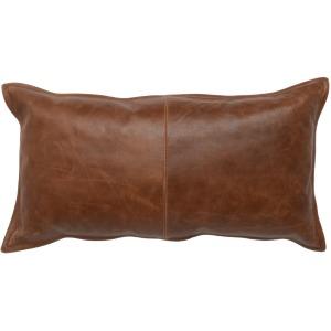 SLD Leather Kona Brown 14x26 Pillow