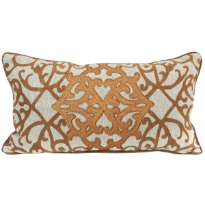 EN Carouge Dark Camel Pillow