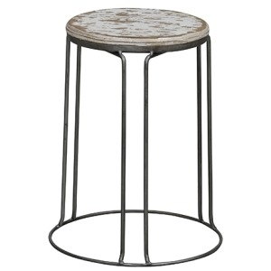 Geary Stool - White