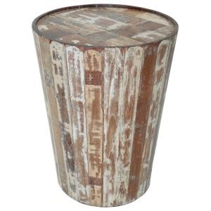 Hampton Barrell Side Table
