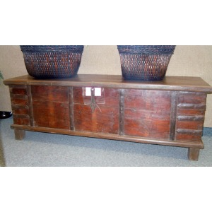 Wood Blanket Chest