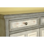 Two Drawer Two Door Cupboard