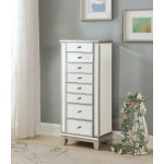 Two Door Seven Drawer Jewelry Armoire