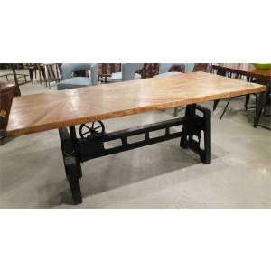 Crank Top Dining Table