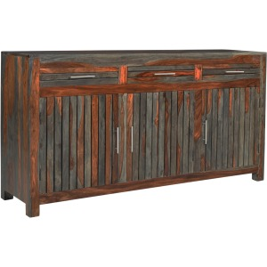Capri Three Door Three Drawer Credenza