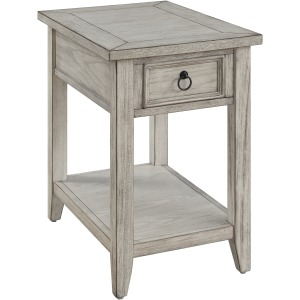 Summerville One Drawer Chairside Table
