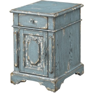 Cabot One Drawer One Door Chairside Table
