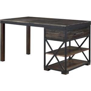Canyon Ridge Storage Counter Height Dining Table
