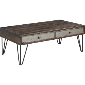 Aspen Court Vintage Two Drawer Cocktail Table