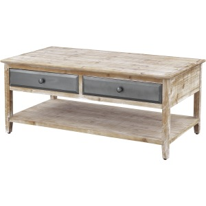 Bali Four Drawer Cocktail Table