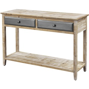 Bali Two Drawer Console