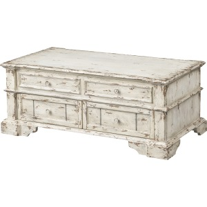 Olivia Two Drawer Lift Top Cocktail Table