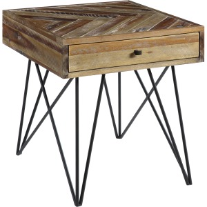 Vail One Drawer End Table