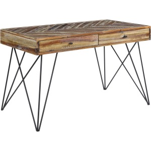 Vail Two Drawer Writing Desk