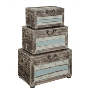 3 Pc Nesting Trunks