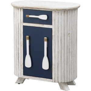 One Drawer One Door Accent Cabinet