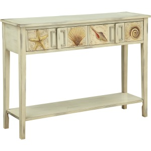 Surfside Two Drawer Console Table