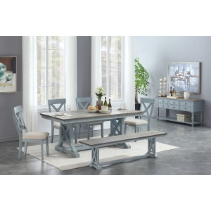 Bar Harbor 6 PC Dining Set