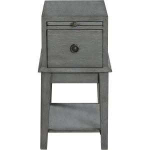 1 Drawer Chairside Table