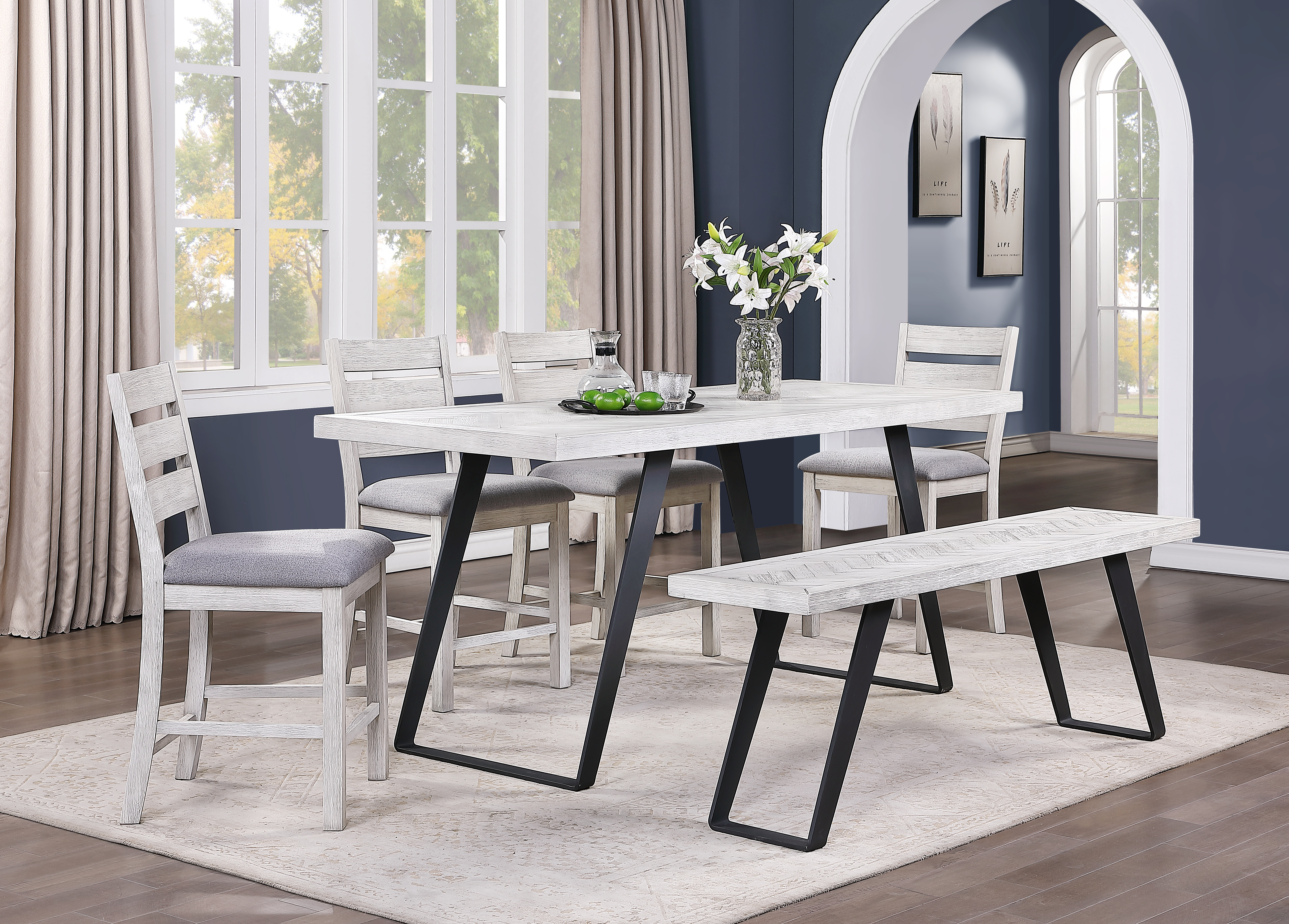 Aspen Court Ii Counter Height Dining Table By Coast To Coast 48199 Deets Furniture