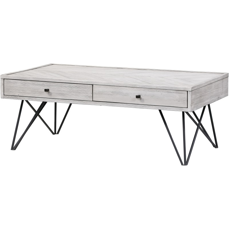 Aspen Court II Two Drawer Cocktail Table