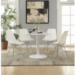 Lowry White Dining Chair