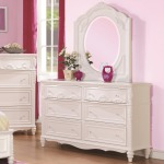 Caroline Decorative 6 Drawer Dresser & Mirror Set