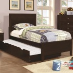 Ashton Collection Full Bed with Framing Details with Trundle