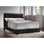 Conner Casual Dark Brown Twin Bed